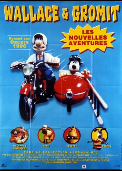 WALLACE AND GROMIT THE FIRST THREE ADVENTURES movie poster