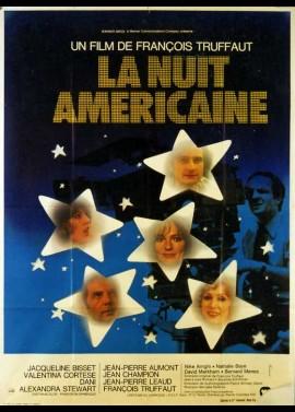 affiche du film NUIT AMERICAINE (LA)
