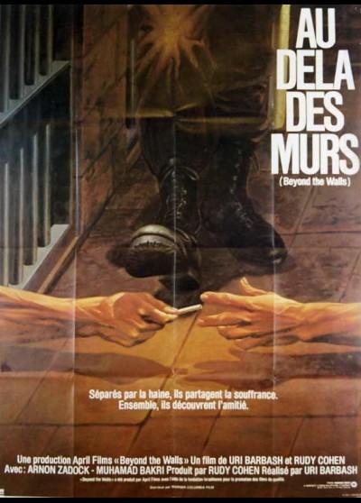 affiche du film AU DELA DES MURS