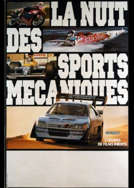 NUIT DES SPORTS MECANIQUES (LA) movie poster