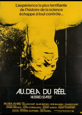 affiche du film AU DELA DU REEL