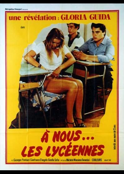 affiche du film A NOUS LES LYCEENNES