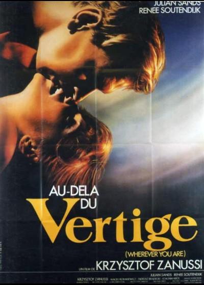 affiche du film AU DELA DU VERTIGE