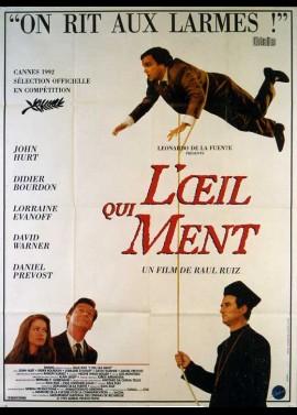 affiche du film OEIL QUI MENT (L')