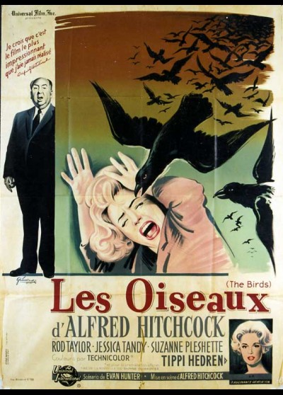 BIRDS (THE) movie poster