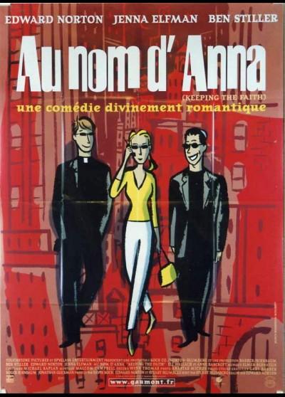 affiche du film AU NOM D'ANNA
