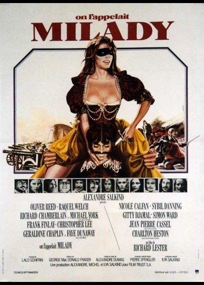 FOUR MUSKETEERS (THE) movie poster