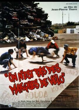 affiche du film ON N'EST PAS DES MARQUES DE VELO