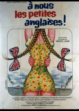 A NOUS LES PETITES ANGLAISES movie poster