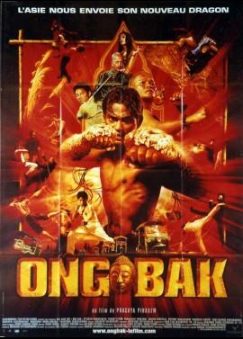 affiche du film ONG BAK