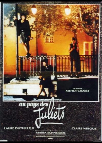 affiche du film AU PAYS DES JULIETS
