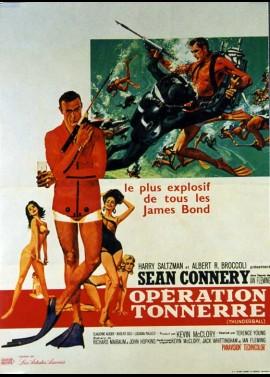 affiche du film OPERATION TONNERRE