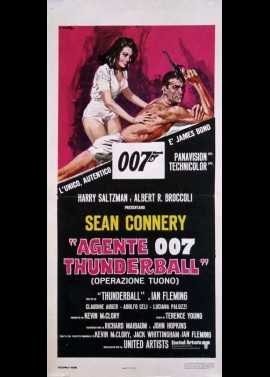 THUNDERBALL movie poster