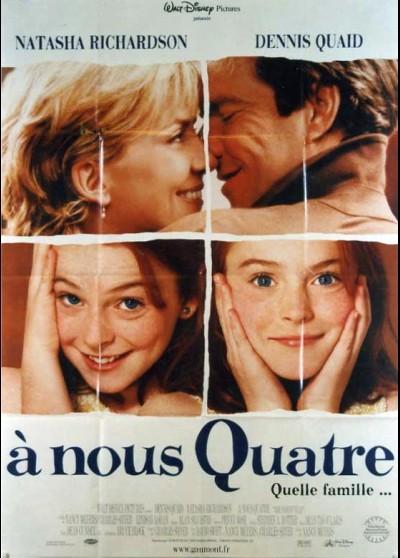 affiche du film A NOUS QUATRE