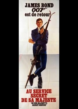 affiche du film AU SERVICE SECRET DE SA MAJESTE