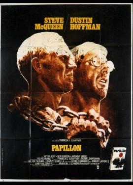 PAPILLON movie poster
