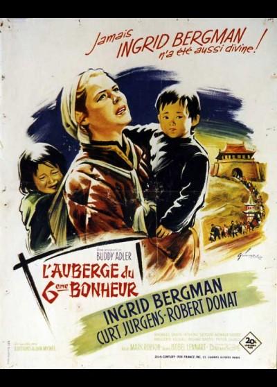 affiche du film AUBERGE DU SIXIEME BONHEUR (L')