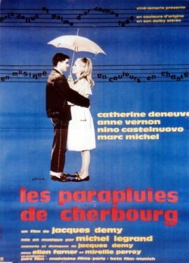 affiche du film PARAPLUIES DE CHERBOURG (LES)
