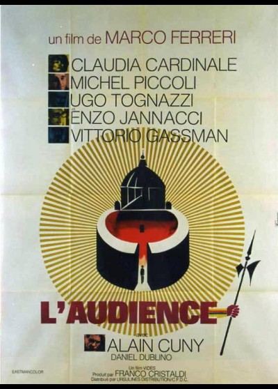 affiche du film AUDIENCE (L')