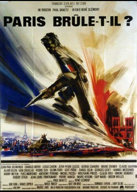 affiche du film PARIS BRULE T'IL