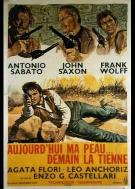 affiche du film AUJOURD'HUI MA PEAU DEMAIN LA TIENNE