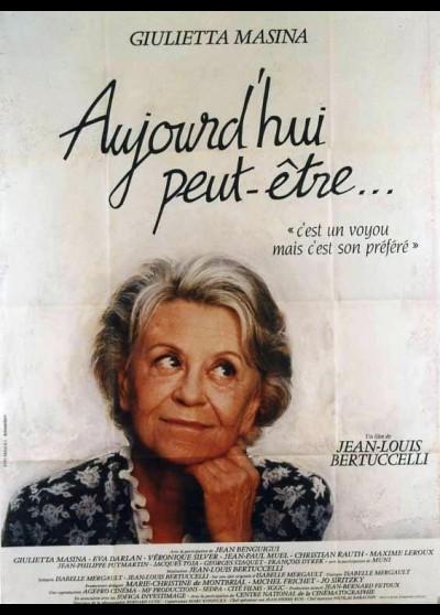 affiche du film AUJOURD'HUI PEUT ETRE
