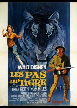 A TIGER WALKS movie poster