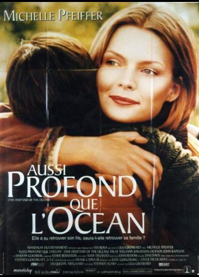 affiche du film AUSSI PROFOND QUE L'OCEAN