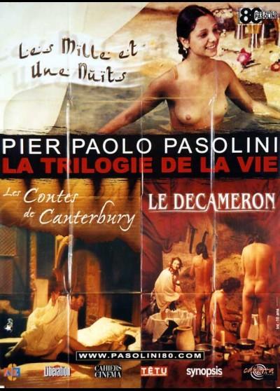 PASOLINI LA TRILOGIE DE LA VIE movie poster