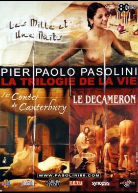 affiche du film PASOLINI LA TRILOGIE DE LA VIE