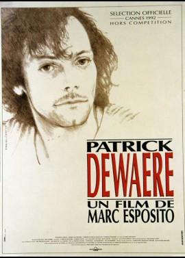 affiche du film PATRICK DEWAERE