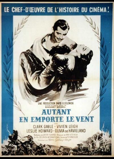 affiche du film AUTANT EN EMPORTE LE VENT