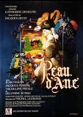 PEAU D'ANE movie poster