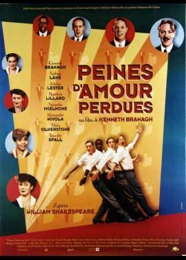 affiche du film PEINES D'AMOUR PERDUES