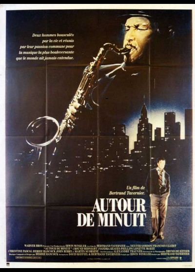 ROUND MIDNIGHT movie poster