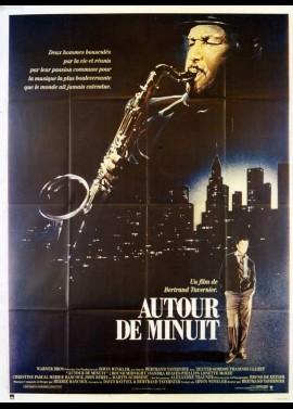 affiche du film AUTOUR DE MINUIT