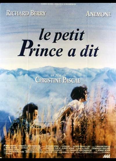 PETIT PRINCE A DIT (LE) movie poster