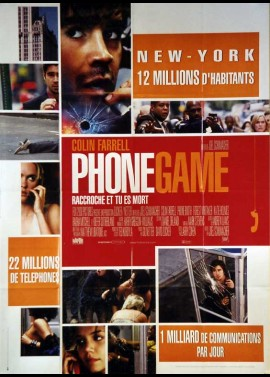 PHONE GAME movie poster