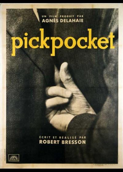 affiche du film PICKPOCKET