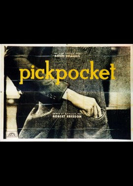 PICKPOCKET movie poster