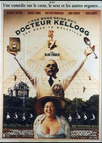 affiche du film AUX BONS SOINS DU DOCTEUR KELLOGG
