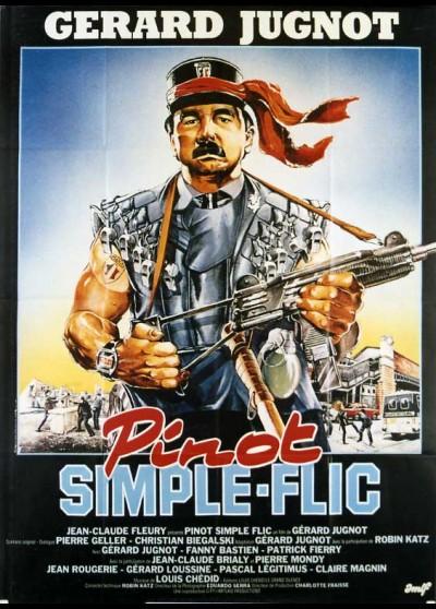 affiche du film PINOT SIMPLE FLIC