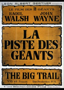 BIG TRAIL (THE) movie poster