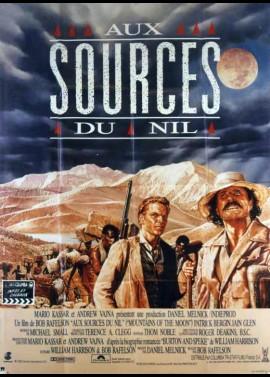 affiche du film AUX SOURCES DU NIL