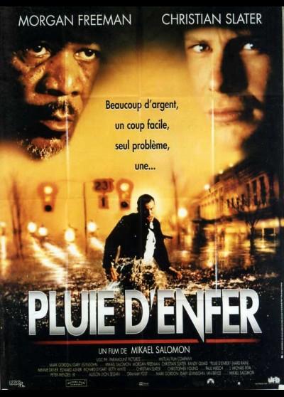 affiche du film PLUIE D'ENFER