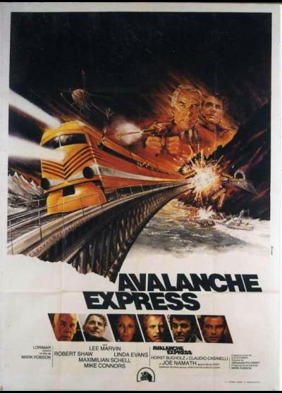 affiche du film AVALANCHE EXPRESS