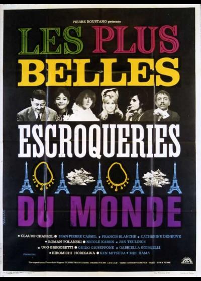 PLUS BELLES ESCROQUERIES DU MONDE (LES) movie poster