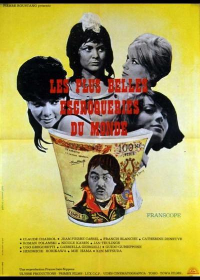 affiche du film PLUS BELLES ESCROQUERIES DU MONDE (LES)