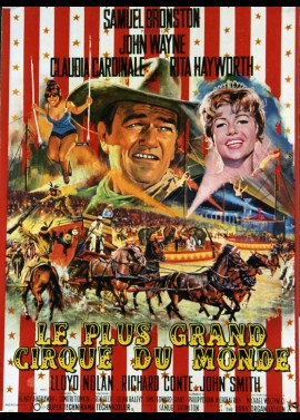 affiche du film PLUS GRAND CIRQUE DU MONDE (LE)