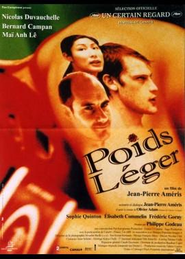 affiche du film POIDS LEGER